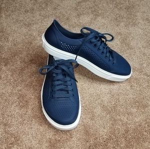 Crocs Navy Blue Sneakers